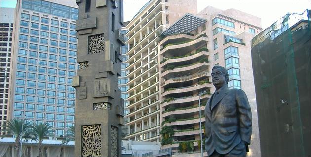 رفيق الحريري رئيس وزراء لبنان  ( 1992 - 1998 ) ( 2000 – 2004 )
